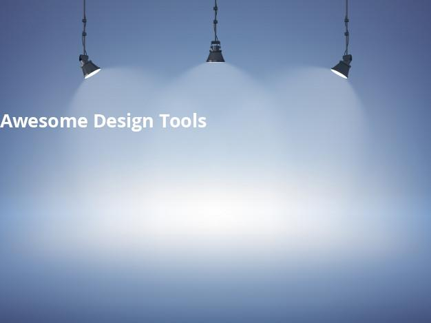 Awesome Design Tools