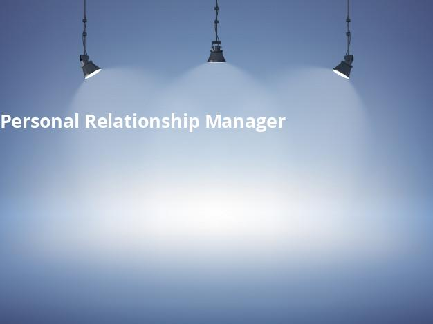 Personal Relationship Manager