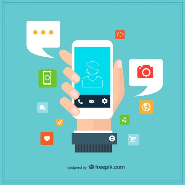 Vector smartphone template design  Vector |  Download
