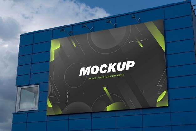PSD | Street marketing billboard mock-up