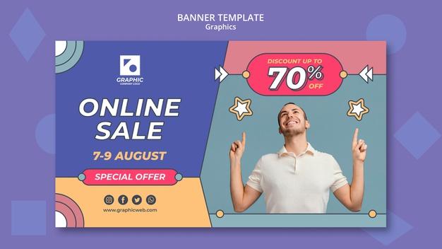 PSD | Graphics class banner template