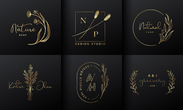 Vector | Luxury logo design collection for branding, coporate identity