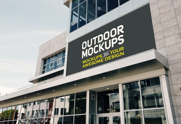 PSD | Outdoor panel mock up