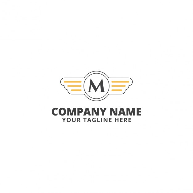 Moto speed logo template  Vector |  Download