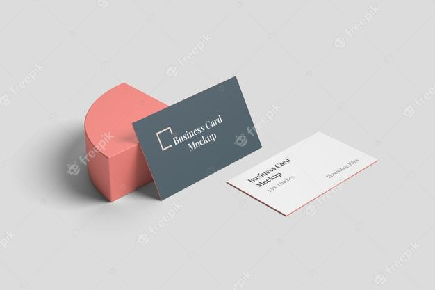 PSD | Stylish business card mockup