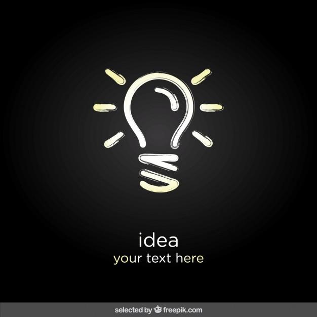 Brillant idea icon  Vector |  Download