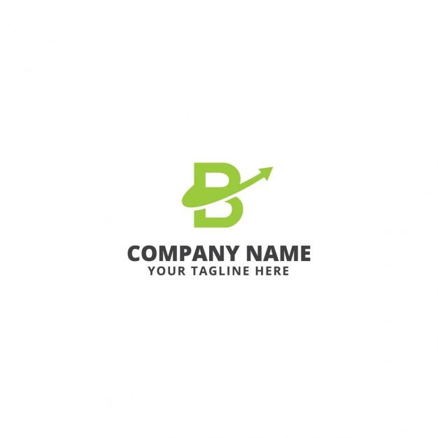 B letter logo template  Vector |  Download
