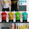 Male t-shirt mock up design  PSD file |  Download