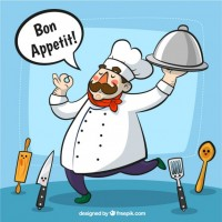 Chef illustration  Vector |  Download