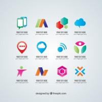 Vector logo collection  dowload   Vector |  Download