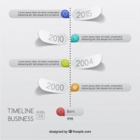 Business timeline infographic  Vector |   Download
