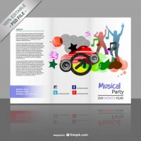 Brochure mock up PSD editable template  PSD file |  Download
