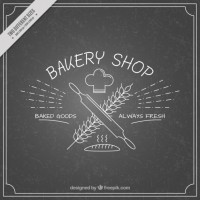 Bakery insignia  Vector |  Download