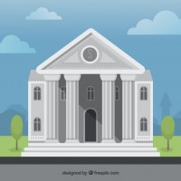 bank building  Vector |  Download