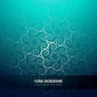 Modern floral background  Vector |  Download
