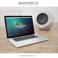 Macbook mockup  PSD file |  Download