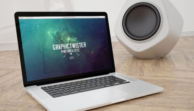 Macbook mockup  PSD file |  Download