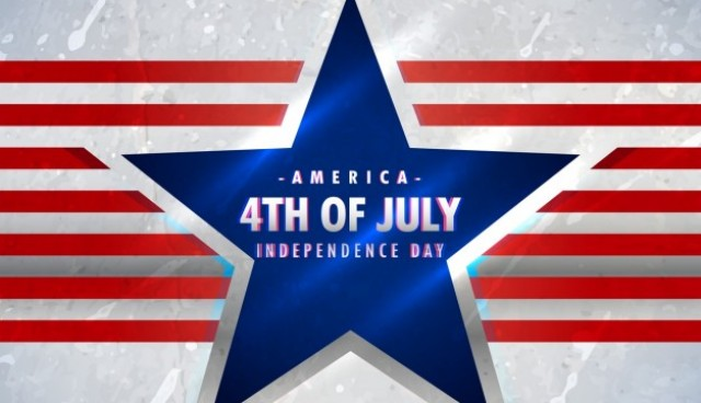 American 4th of july background  Vector |  Download