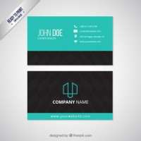 Visit card template  Vector |  Download