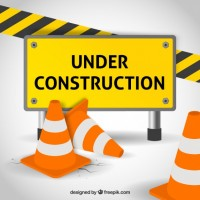 Under construction  Vector |  Download