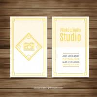 Photography studio flyer design  Vector |  Download