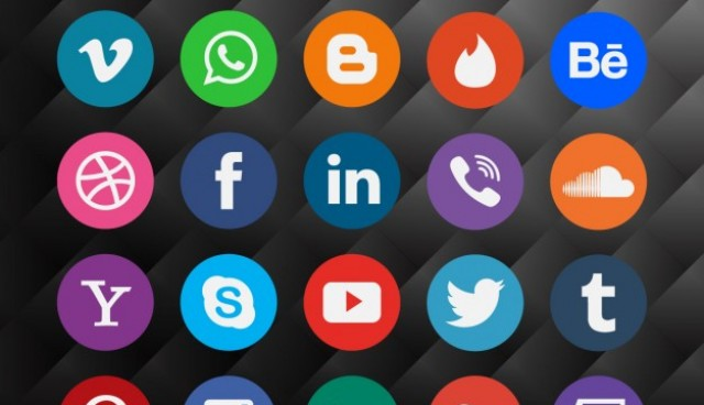 Social Media Icon Pack  Vector |  Download