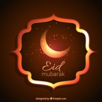Eid mubarak  Vector |  Download