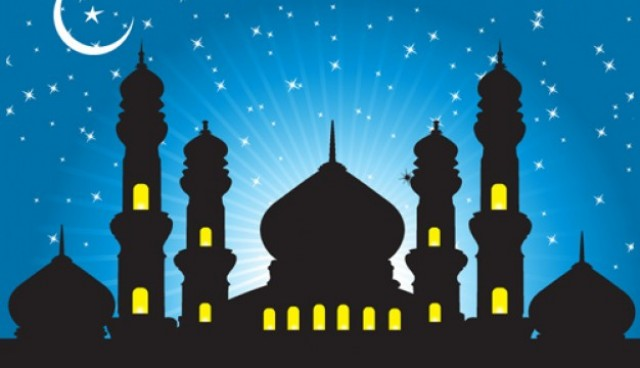 Abstract background mosques  Vector |  Download