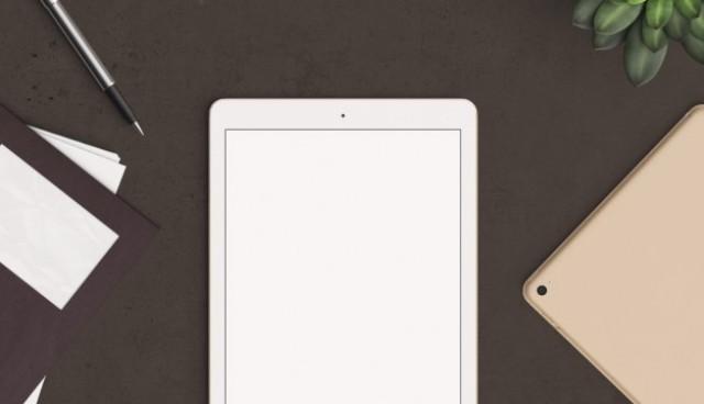 Tablet mock up  PSD file |  Download