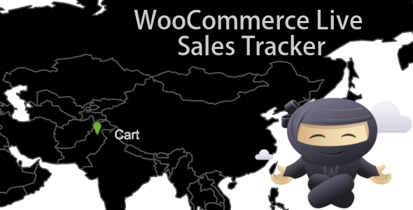 WooCommerce Live Sales Tracker