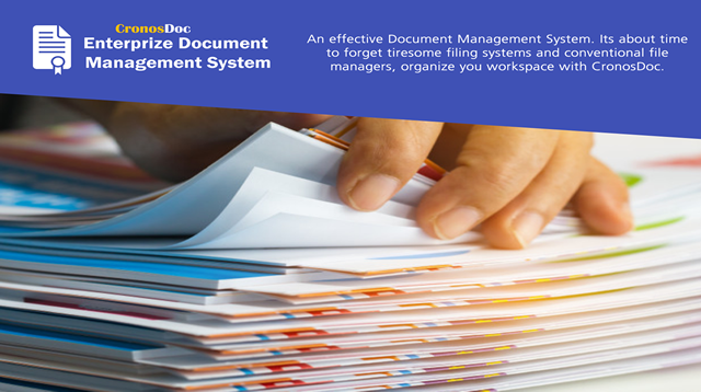 CronosDoc Enterprize Electronic Document Management System