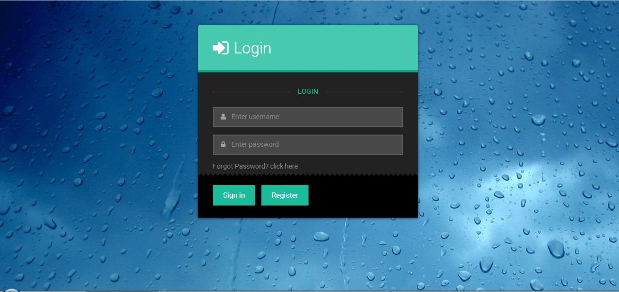 Cybersecured login system. v.1.0