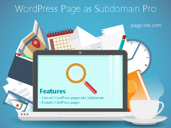 WordPress Page Subdomain Pro