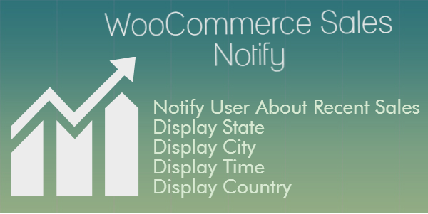 WooCommerce Sales Notify Pro Recent Sales Notification Popup WordPress